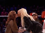 Christina Aguilera : Nouveau baiser lesbien... avec une candidate de The Voice !