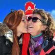 Marie et sa maman Florence Arthaud - janvier 2015