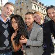 Stéphane Meunier, Josephine Jobert, David Fournay, Sarah Valmont et Bertrand Cohen