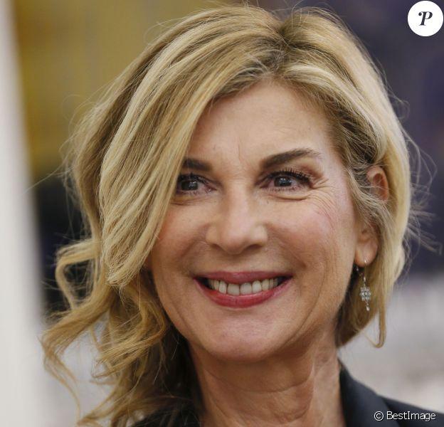 Exclusif - L'actrice Française Michèle Laroque, présidente et marraine du jury de la 11ème édition du Trophée Top Vin 2016