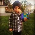 Jessica Simpson a publié une photo de son fils Ace sur sa page Instagram, au mois de mars 2016.