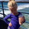 Jessica Simpson a publié une photo de sa fille Maxwell sur sa page Instagram, au mois de mars 2016.