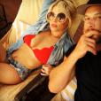 Jessica Simpson a publié une photo avec son mari Eric Johnson sur sa page Instagram, au mois de février 2016.