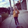 Jessica Simpson a publié une photo de sa fille Maxwell sur sa page Instagram, au mois de février 2016.