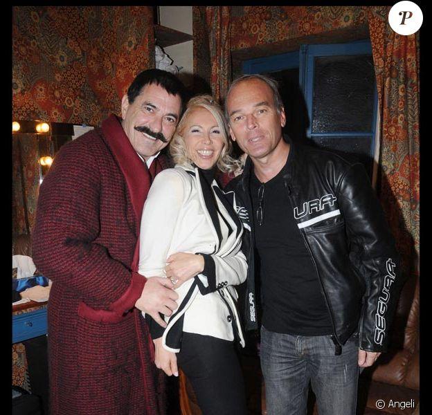 Jean-Marie Bigard, sa femme Claudia et Laurent Baffie