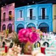 Karl Lagerfeld a recréé l'ambiance de La Havane et de Cuba pour le 62e Bal de la Rose, le 19 mars 2016 au Sporting de Monte-Carlo © Palais princier / Gaetan Luci / Monte Carlo Société des Bains de Mer via Bestimage