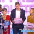 """Les chroniqueurs Enora Malagré et Matthieu Delormeau révèlent leur nombre de conquêtes. Emission """"Touche pas à mon poste"""" sur D8, le 24 mars 2016."""