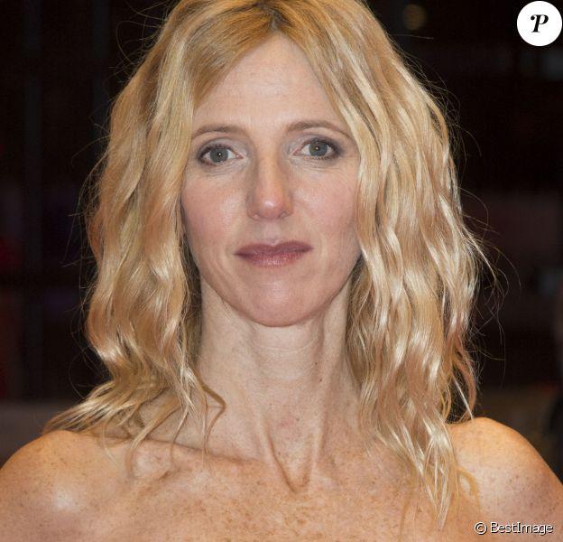 """Sandrine Kiberlain - Première du film """"Quand on a 17 Ans"""" lors du 66e festival du film de Berlin, la Berlinale le 14 février 2016."""