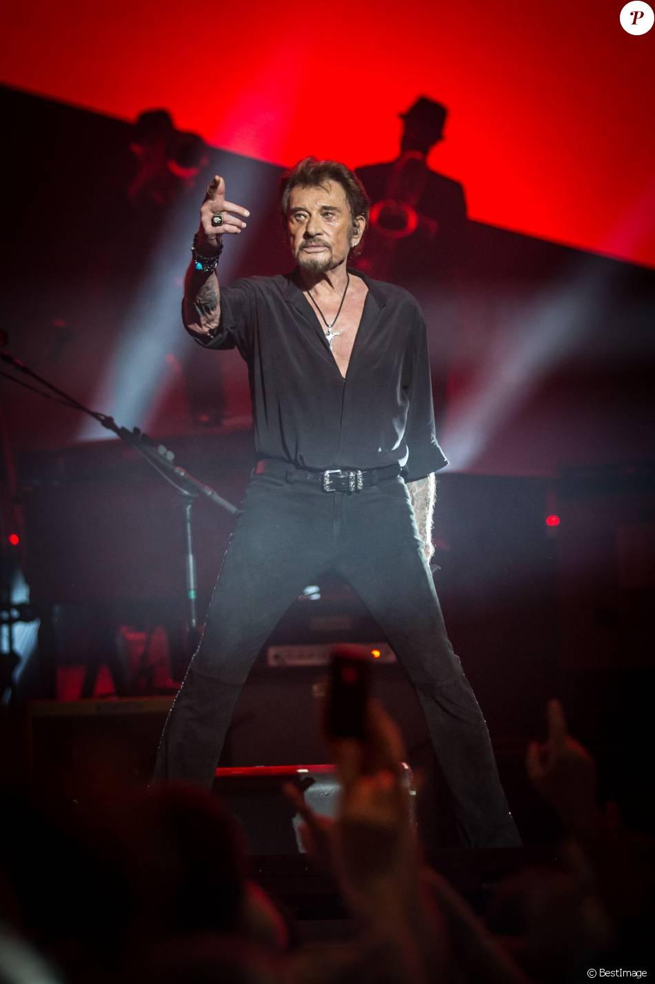 Exclusif - Johnny Hallyday en concert © Cyril Moreau / Bestimage