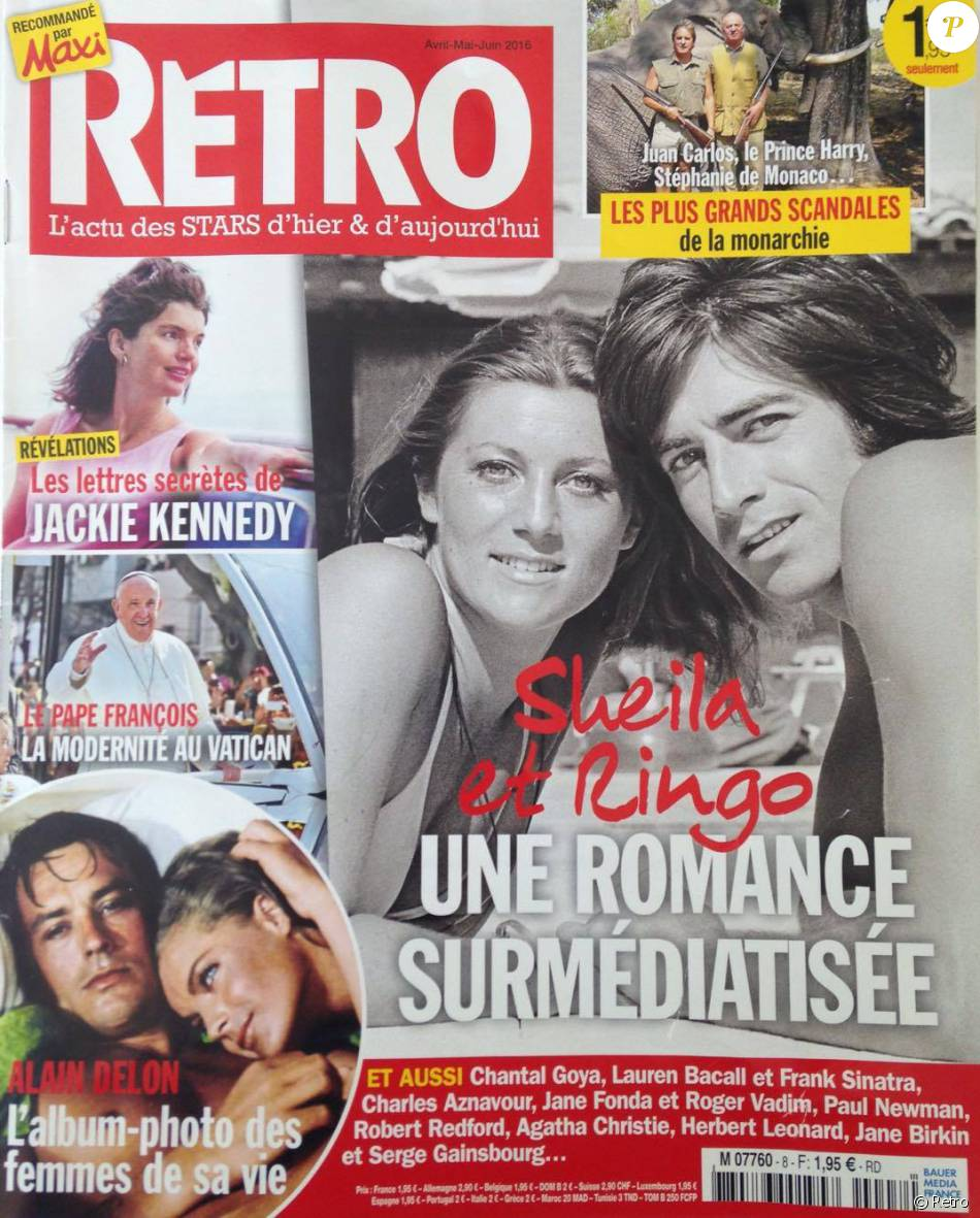 le magazine retro en kiosque le 31 mars 2016. Black Bedroom Furniture Sets. Home Design Ideas