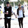 Joel Madden et Nicole Richie, en attendant bb