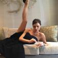 Victoria Beckham exhibe son impressionante souplesse sur sa page Instagram, le 1er avril 2016.