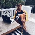 Caroline Receveur est actuellement à Miami. Avril 2016.
