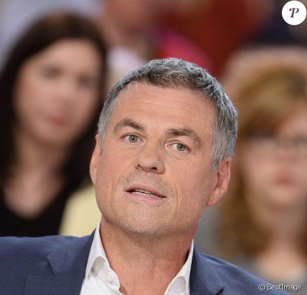 """Bruno Gaccio - Enregistrement de l'émission """"Vivement Dimanche"""" à Paris le 25 février 2015 diffusé le 3 mars"""