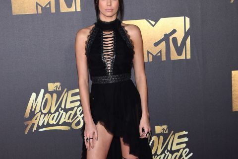 Kendall Jenner, Gigi Hadid, Cara Delevingne : Trio glamour aux MTV Movie Awards