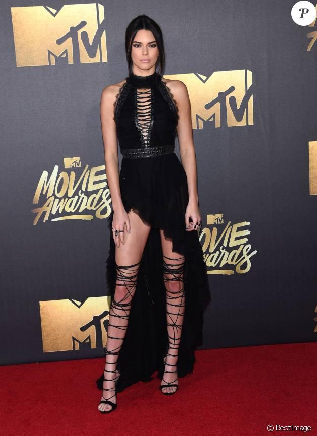 Kendall Jenner - Cérémonie des MTV Movie Awards 2016 à Los Angeles le 9 avril 2016