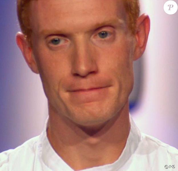 """Thomas est éliminé - """"Top Chef 2016"""" sur M6. Emission du 11 avril 2016."""
