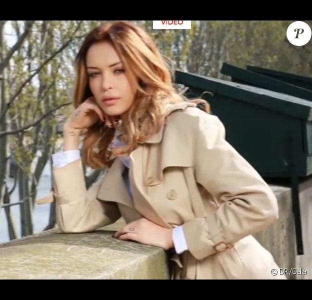 Nabilla : Nouveau look pour son shooting pour Gala, en kiosques le 13 avril 2016