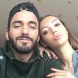 Nabilla et Thomas ont passé le Nouvel An en amoureux à Barcelone. Décembre 2015.