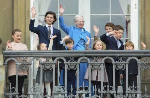 Le prince Nikolai chevelu et la princesse Athena grandie aux 76 ans de mamie !