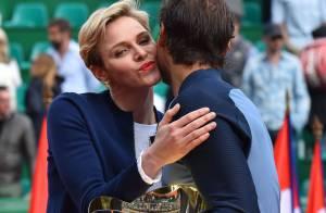 Charlene de Monaco superbe pour la résurrection de Nadal, devant Xisca amoureuse