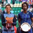 Rafael Nadal a triomphé de Gaël Monfils en finale du Monte-Carlo Rolex Masters au Monte-Carlo Country Club à Roquebrune-Cap-Martin, le 17 avril 2016. © Bruno Bebert/Bestimage