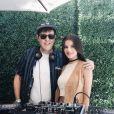 Sonia Ben Ammar, l'ancienne petite amie de Brooklyn Beckham, a publié une photo d'elle lors du festival de Coachella sur sa page Instagram, le 17 avril 2016.
