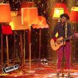 "Tamara Weber - ""The Voice 5"", le premier live sur TF1. Samedi 23 avril 2016."