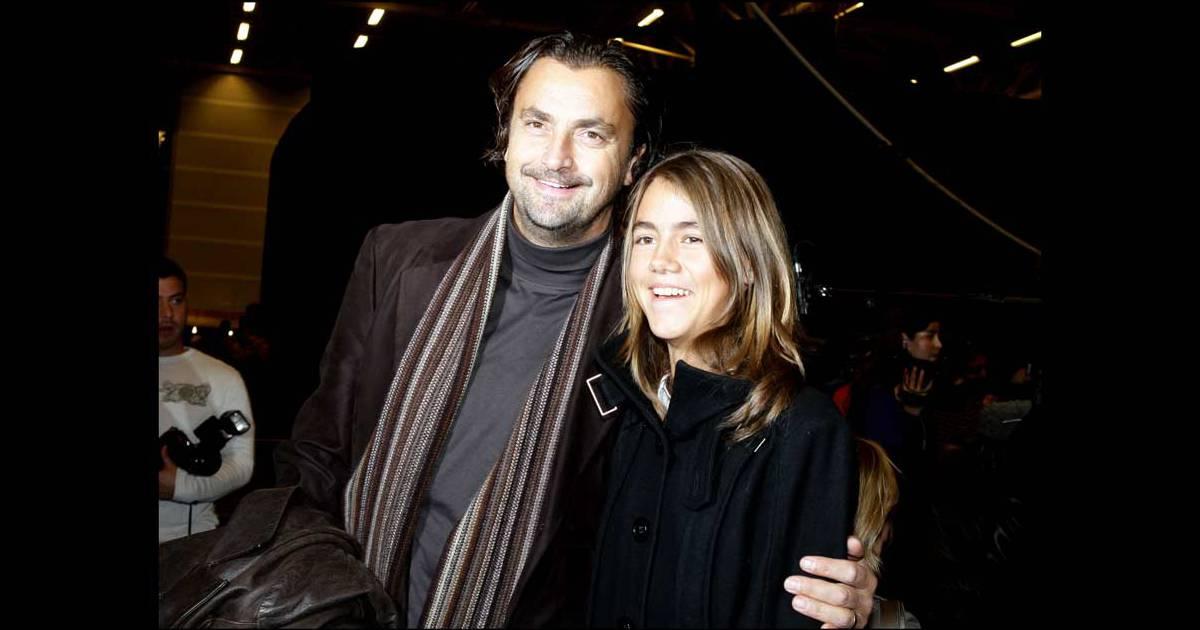 Henri leconte et sa fille sara luna au salon du chocolat for Salon du divorce
