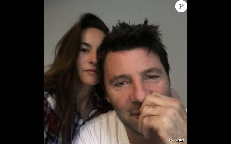Philippe Lellouche et Vanessa Demouy sur Instagram le 26 avril 2016