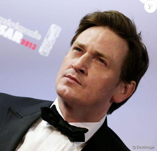 Benoit Magimel aux César 2013.
