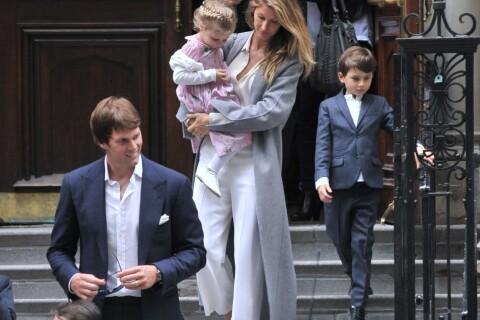 Gisele Bündchen : Maman chic pour une rare sortie en famille !