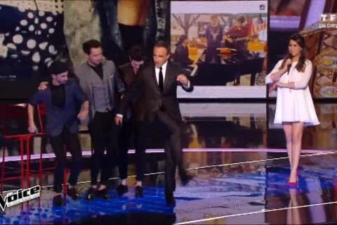 Nikos Aliagas : Sirtaki improvisé dans The Voice à cause d'Alessandra Sublet !