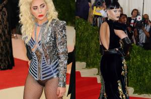 Met Gala 2016 : Lady Gaga et Katy Perry, machines de mode sur tapis rouge