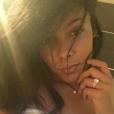 Nehuda (Les Anges 8) : Selfie sur Instagram