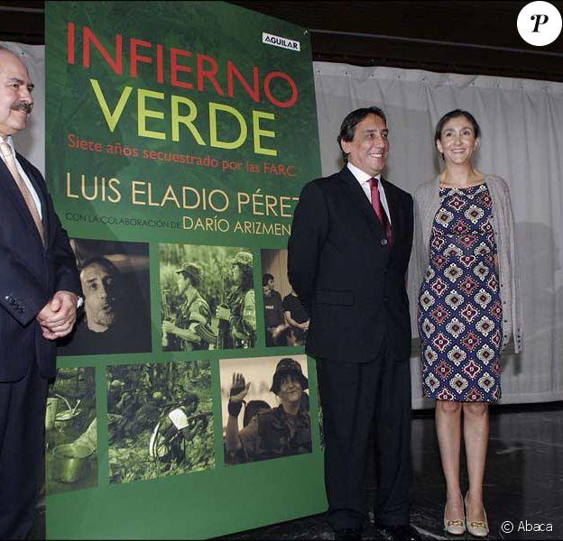 Luis Eladio Perez, ex-otage des Farc aux côtés d'Ingrid Betancourt