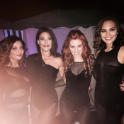 Priscilla Betti, Eve Angeli, Valérie Bègue et Anaïs Delva bombesques en body