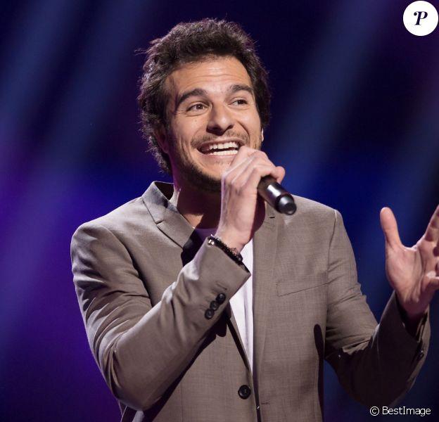 Amir Haddad lors des répétitions du concours de l'Eurovision à Stockholm, en Suède, le 8 mai 2016.