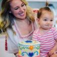 Haylie Duff et son fiancé Matt Rosenberg fêtent le premier anniversaire de leur fille Ryan. Photo publiée sur Instagram, le 12 mai 2016