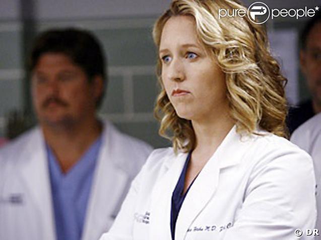 Brooke Smith dans le role du docteur Erica Hahn  dans la serie Grey's Anatomy