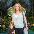 Brooke Smith de Grey's Anatomy avec sa fille