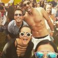 Pauline Ducruet lors du festival de Coachella en avril 2016, photo Instagram.