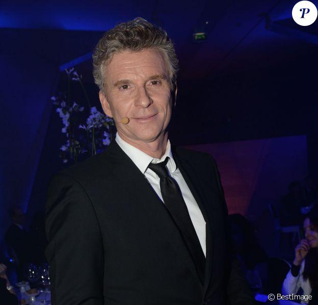 Exclusif - Denis Brogniart - Dîner de Gala du Prix d'Amérique Opodo à la Maison de l'UNESCO à Paris le 24 janvier 2015.