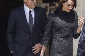George et Amal Clooney : Amoureux irrésistibles pour une rencontre improbable