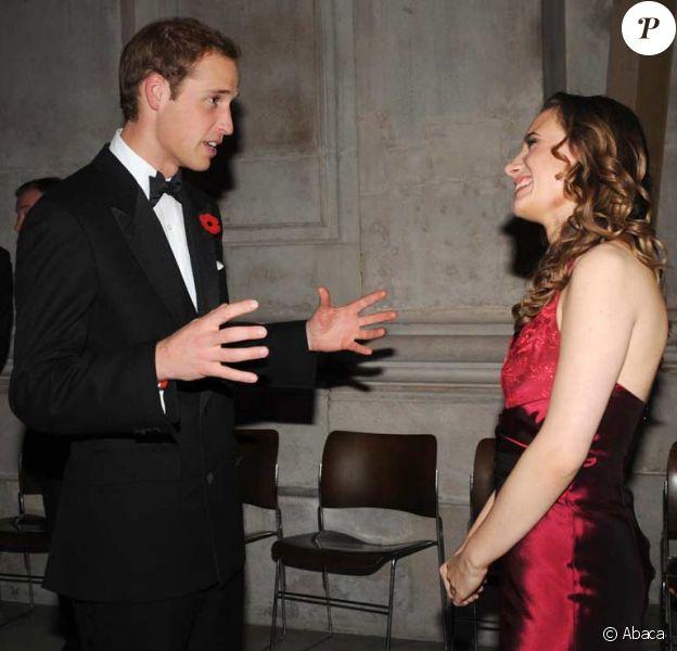 Le prince William rencontre Jennifer Pike