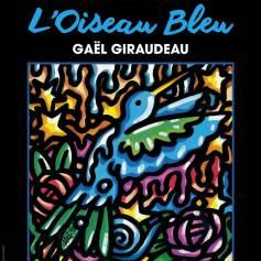 L'affiche du spectacle L'Oiseau bleu au Studio Hébertot jusqu'au 3 juillet 2016