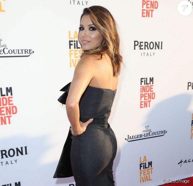 Eva Longoria à la première de Lowriders à Hollywood, le 1er juin 2016