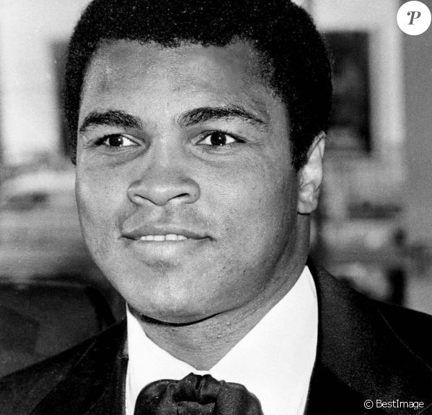 Mohamed Ali à Cannes en 1978.