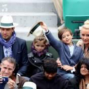 Elodie Gossuin câline avec ses jumeaux adorables à Roland-Garros !