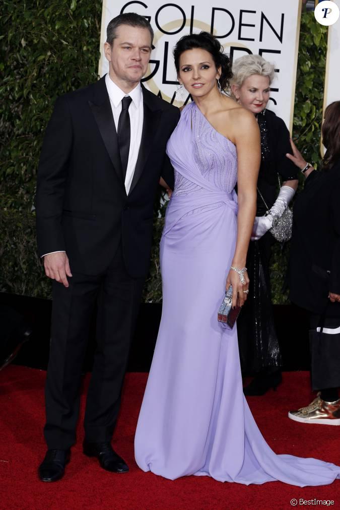 Matt damon et sa femme rencontre